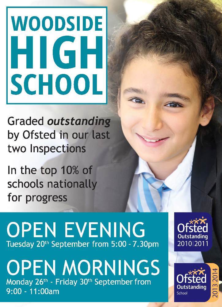 Woodside Open Mornings and Evening