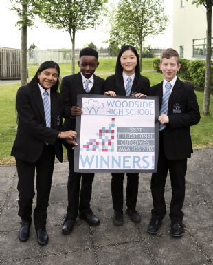 Woodside High School wins award for exceptional 2016 results!