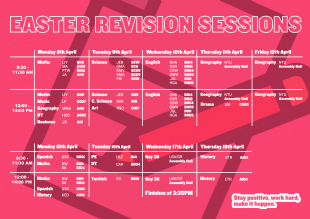 Easter Revision & holiday activities in Haringey!